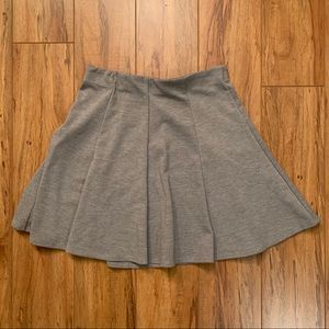 Grey Mini Skirt from Sirens